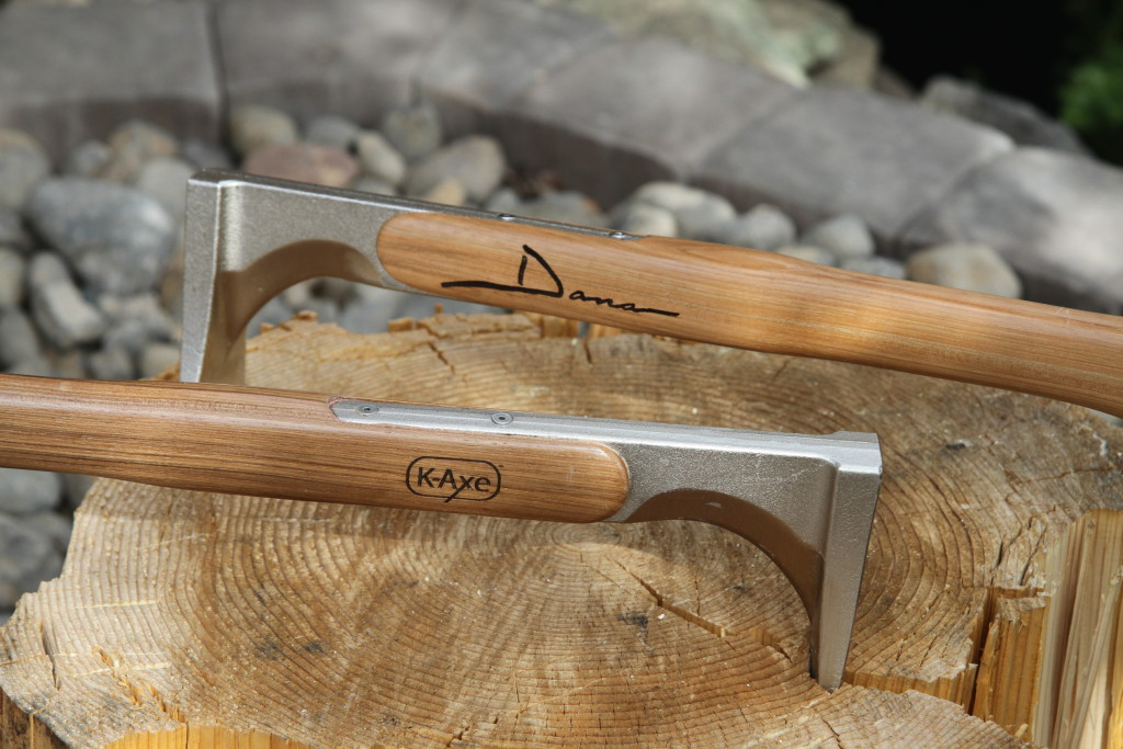 engrave your K-Axe kindling axe handle
